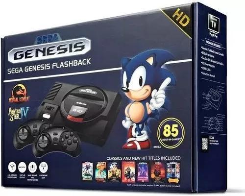 Video Game Sega Mega Drive Hdmi Com 2 Controles S