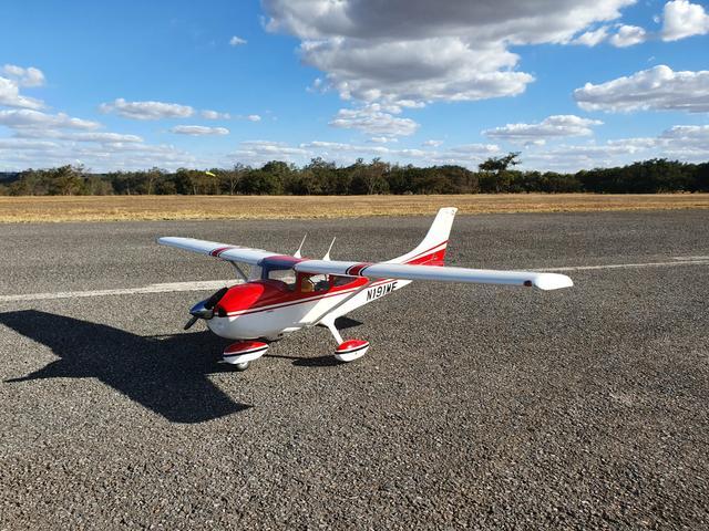Aeromodelo Cessna 182 Skylane Completo Novo