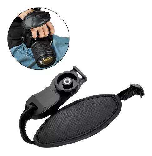 Alça De Mão Hand Grip Camera Dslr Strap P/ Canon Nikon