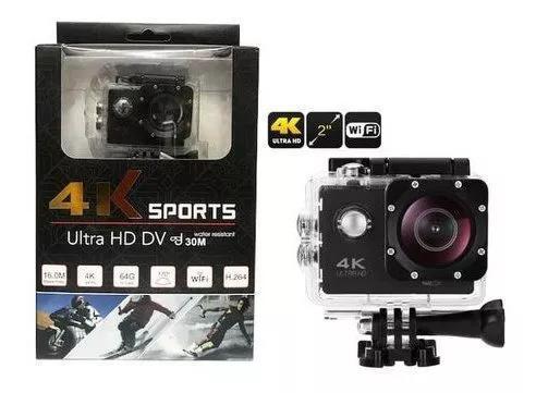 Camera Filmadora Sports 4k Ultra Hd