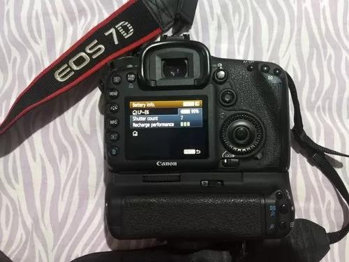Canon Eos 7d + Grip Original