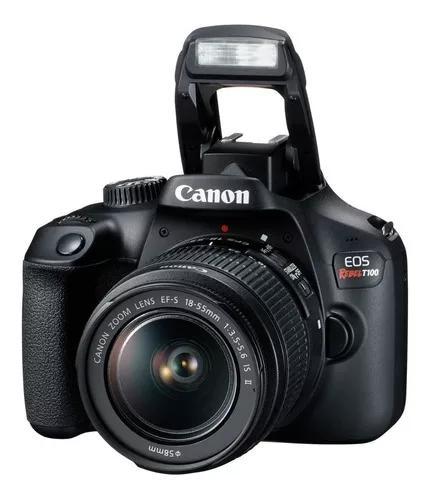 Câmera Canon Eos Rebel Dslr T100 Kit