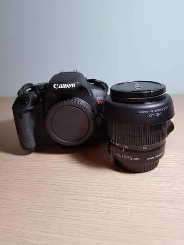 Câmera Canon Eos Rebel T4i + Lente 18-55mm + Filtro +