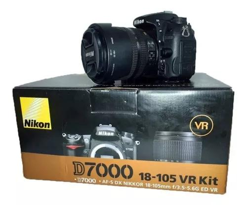 Câmera Nikon D7000 Lente 18-105 Mm Perfeito Estado S