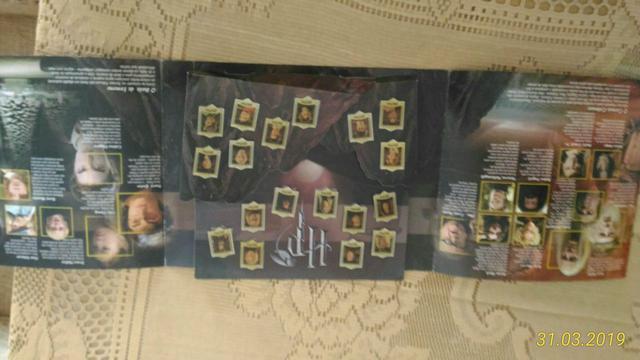 Coleção completa de broxes do Harry Potter