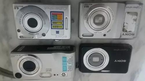 Maquinas Fotograficas Digitais Hp E Sony * No Estado*