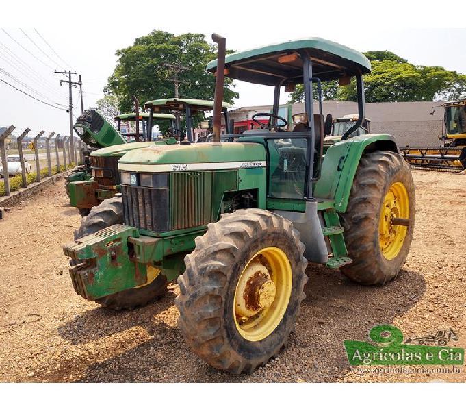 Trator John Deere 6405 4x4 (Transmissão Power Quad!)