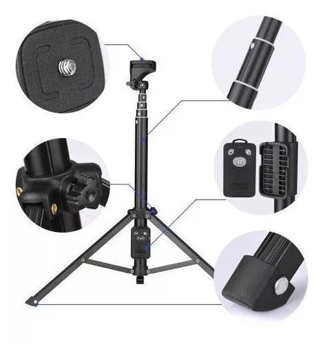 Tripé Universal Telescópico Câmera E Celular 1,33m