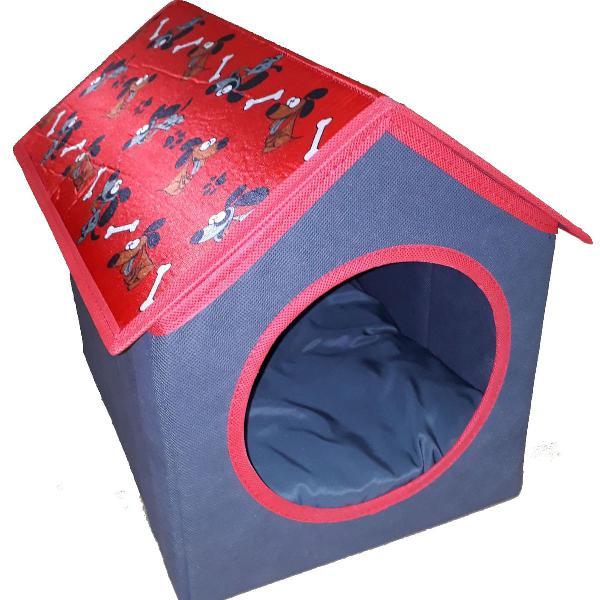 casinha para gatos e cachorro de pequeno porte tipo 1