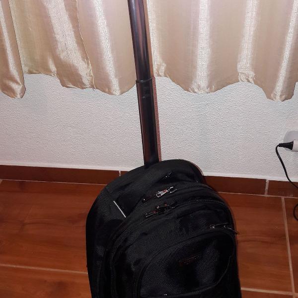 mochila para notebook com rodinhas