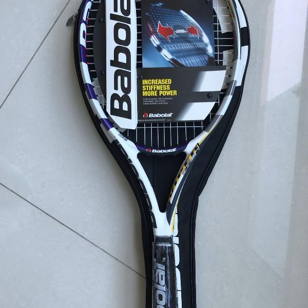 raquete de tênis babolat mod. viper si strung grip 3