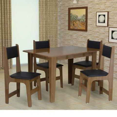 Compre pelo * Mesa com 4 cadeiras Nicole - Pagamento na
