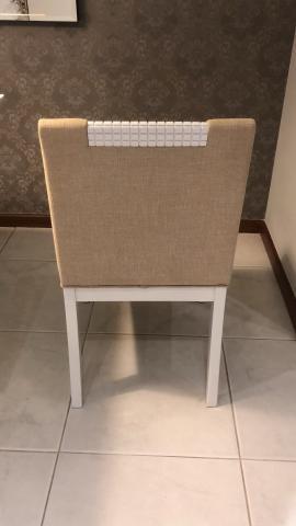 Jogo de cadeiras para mesa de jantar