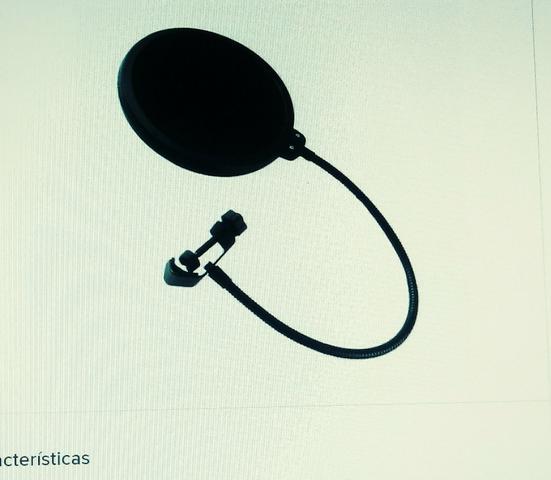 Filtro Anti-ruído Microfone Pop Filter Dreamer Ps01