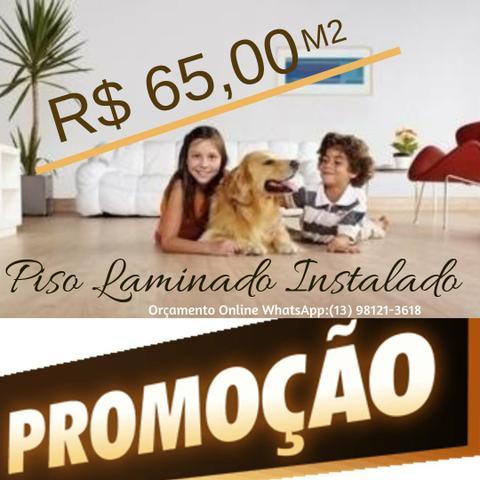 Piso Laminado em São Vicente Preço m2