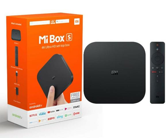Tv Box Xiaomi Mi Box S Global 4k Hdr Android Tv Oficial