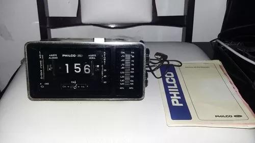 Lindo Rádio Relógio Philco Ford Anos 77 Nota Fiscal Da