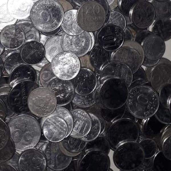 Lote de moedas antigas para artesanato!