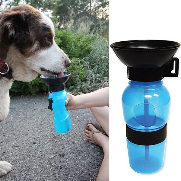 garrafa para cachorro e gato
