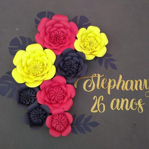 kit flores com tema mickey