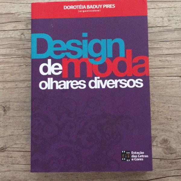 livro design de moda