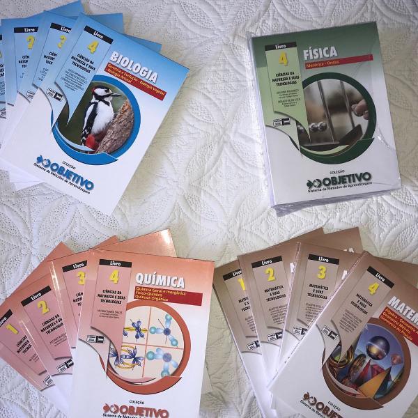 livros do objetivo para o ensino médio