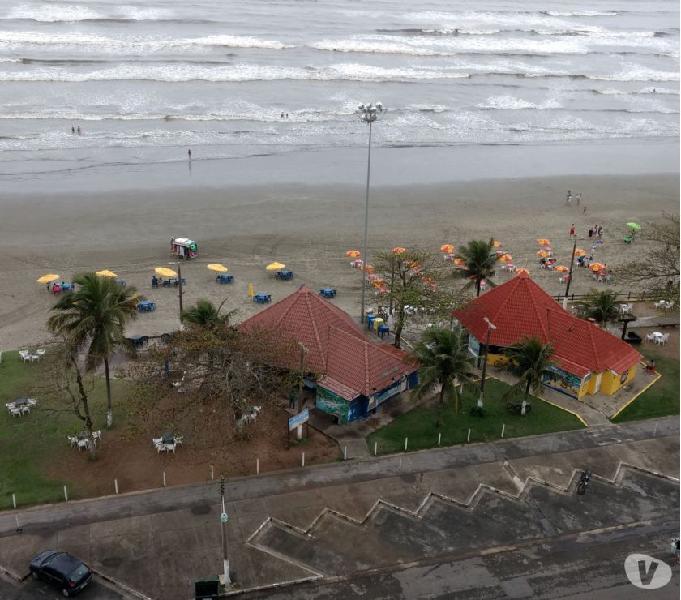 Apartamento na praia de Peruíbe frente para o mar