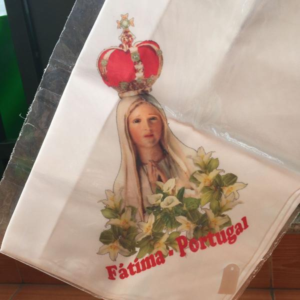 Lenço de Nossa Senhora de Fátima