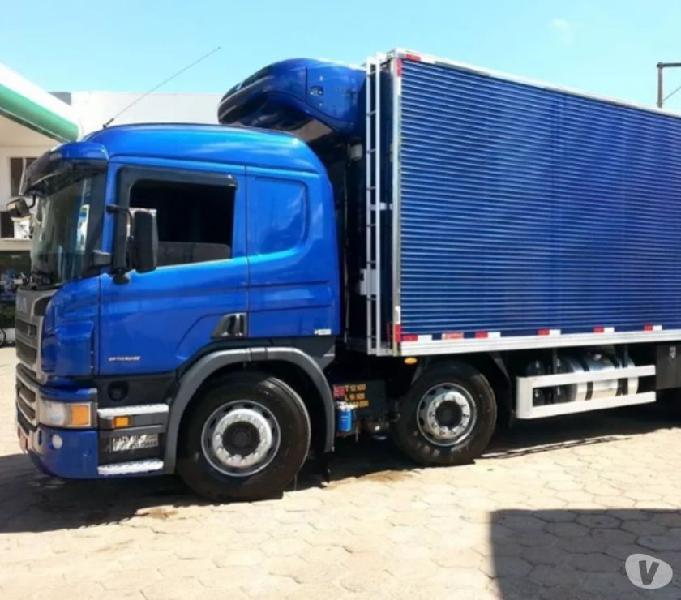 Scania P310 201515 Bitruck 8x2 Baú Frigorifico