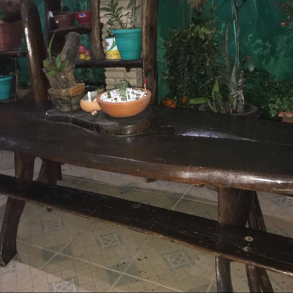 mesa de jacarandá