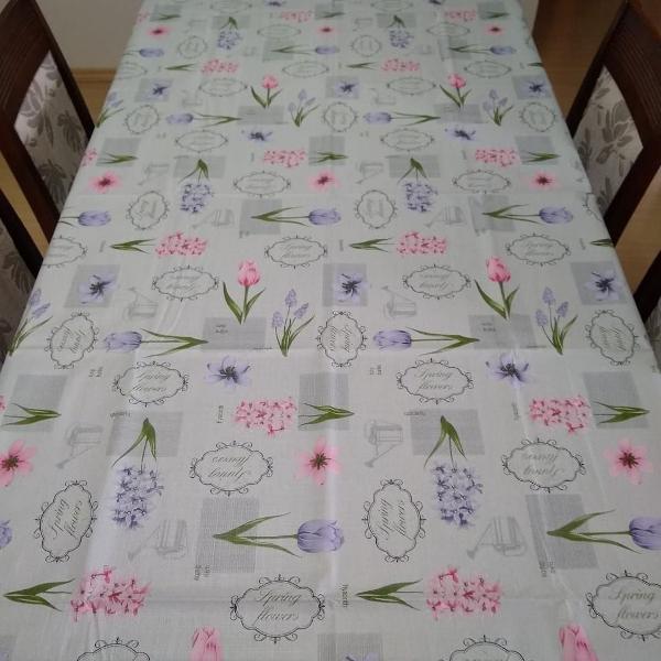 toalha de mesa térmica tulipa 1.4 x 3.0m top