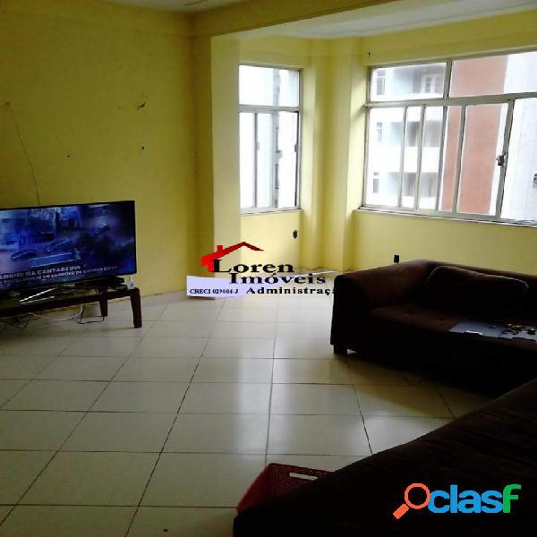 Apartamento 3 dormitórios Vista para o mar Gonzaguinha Sv!