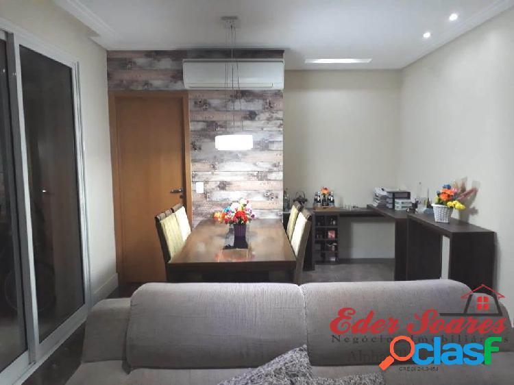Apto para venda 3 dorms (1 suíte com Closet) - 122m² -