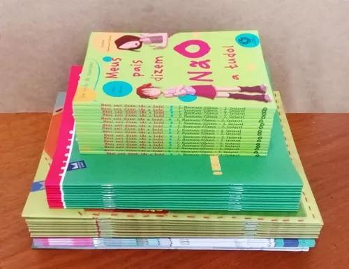 Livros Infanto Juvenis Diversos - 50 Unidades Leia