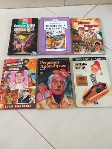 Livros Infanto Juvenis Lote Com 6 Livros
