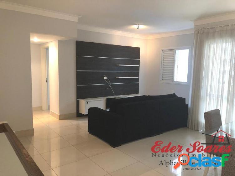 Locação: Apartamento Mobiliado com 84m² em Excelente