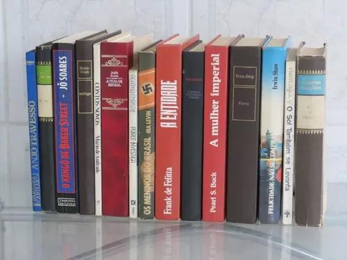 Lote 15 Livros De Literatura Nacional E Estrangeira