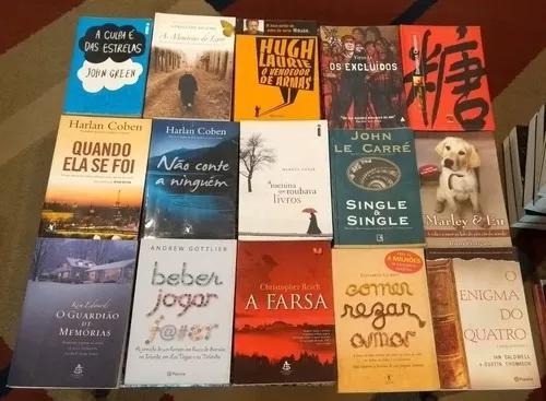 Lote Saldo 15 Livros Literatura Estrangeira - Oportunidade