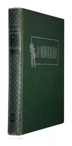 O Minotauro Monteiro Lobato 1962 Ilustrado Livro /