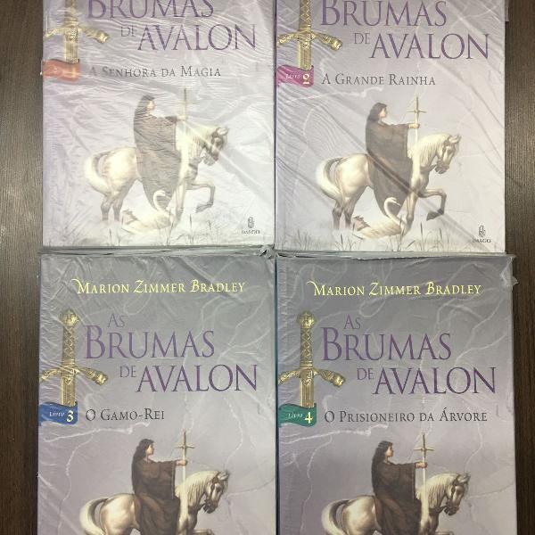 as brumas de avalon - 4 volumes - marion zimmer bradley