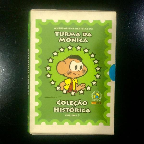 coleção histórica turma da mônica volume 3