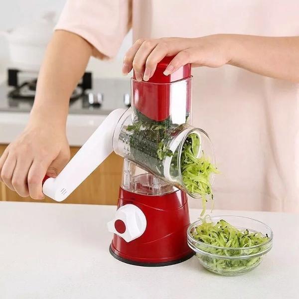 cortador fatiador legumes 3 laminas ralador verduras queijo