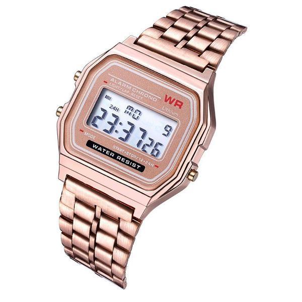 relógio casio vintage rosa - promoção!!!
