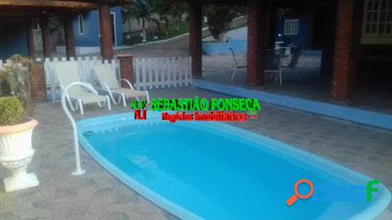 Chácara em Paraibuna - Troca por casa em São José dos