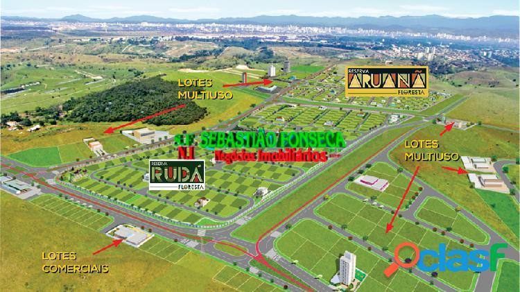 Terrenos residencial e comercial no Bairro Floresta em São