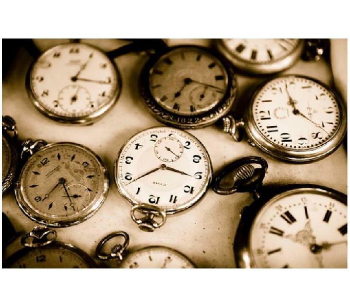 Lote com + de 30 Relógios antigos Patek Philipp, etc.