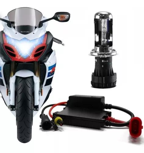 Kit Bi Xenon H4-3 Hid Para Motos 6000 E 8000k Marca Tech One