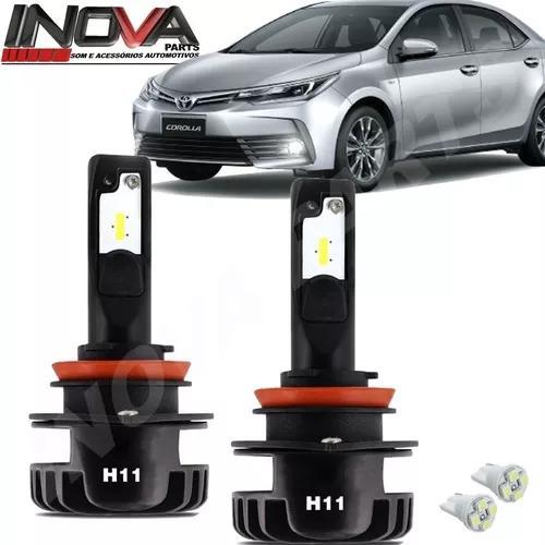Kit Lampada Super Led Plus Corolla 15 A 19 Farol Baixo H11