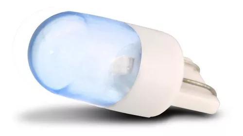 Lâmpada Led Pingo T10 1 Polo 12v 2w Luz Azul Painel Teto