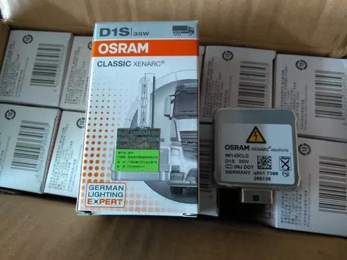 Lâmpada Xenon Osram D1s 4300k 66140 66142 66144 35w